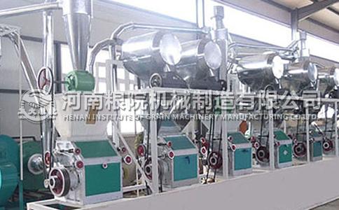 30吨级卧式面粉加工机械