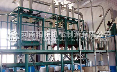 15吨小麦石磨面粉加工设备