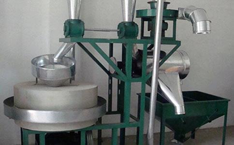 全自动石磨面粉机械