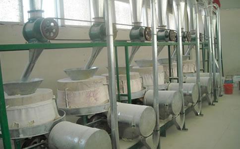 6组石磨面粉机械