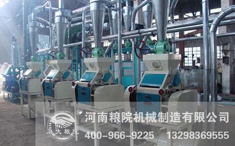 面粉加工机械生产任务分配要合理