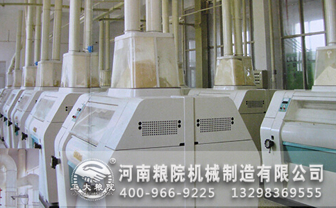 面粉加工机械产量低的原因分析